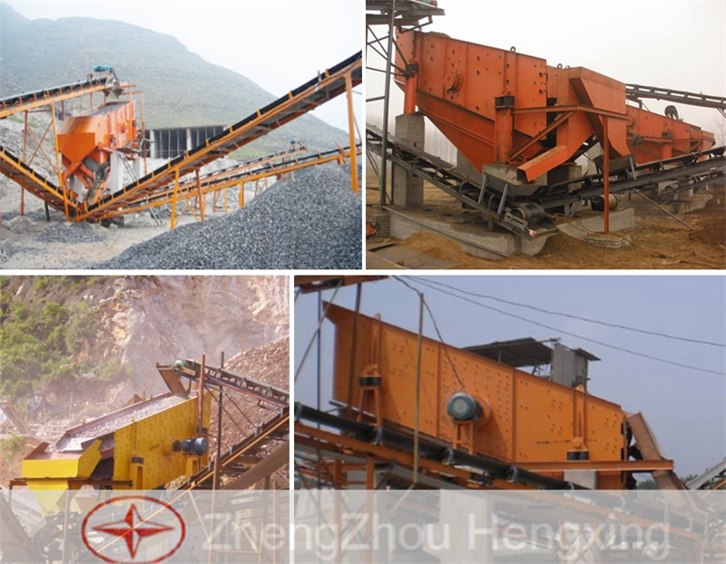 Stone Crusher Vibrating Screen
